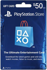 Sony Playstation-$50-Gift-Card-image
