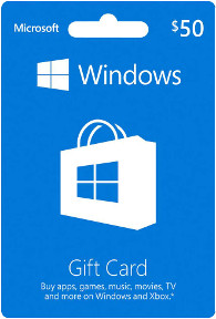 $50 Windows-eStore-Gift-Card