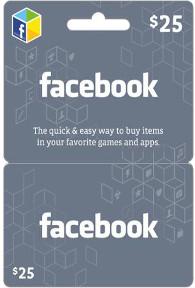 Facebook-$25