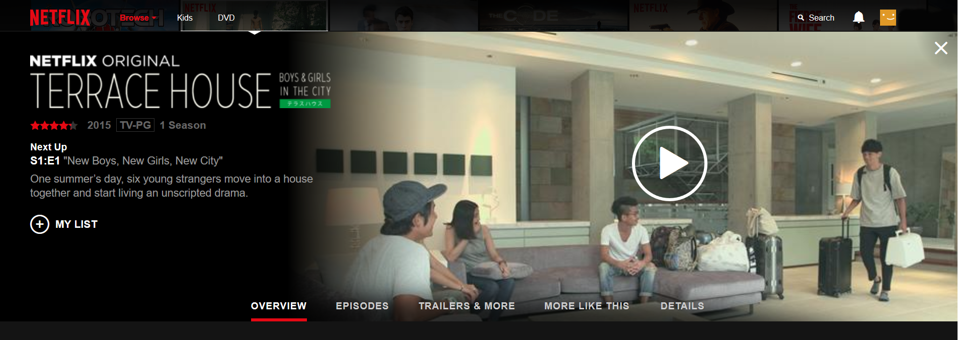 Netflix scores big with terrace house an for Terrace japanese show